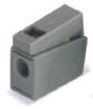 導線連接器 灰色(連續操作溫度105℃)