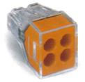 導線連接器 橘色4線式